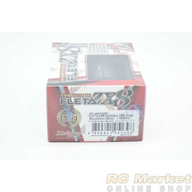 MUCH MORE MR-1900FZX8EV FLETA ZX8 Evolution 1/8th Scale Brushless Motor (1900KV)