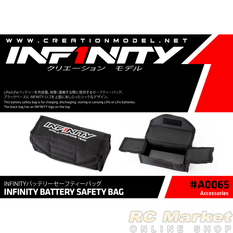 INFINITY A0065 Battery Safety Bag