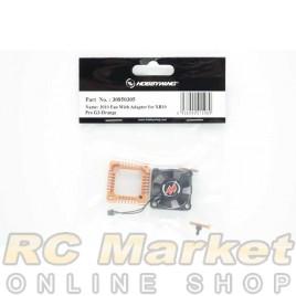 HOBBYWING 30850305 XERUN XR10 PRO G2 3010 Fan With Adapter - Orange