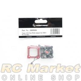 HOBBYWING 30850304 XERUN XR10 PRO G2 3010 Fan With Adapter - Red