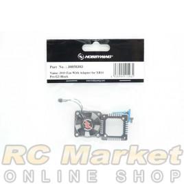 HOBBYWING 30850303 XERUN XR10 PRO G2 3010 Fan With Adapter - Black