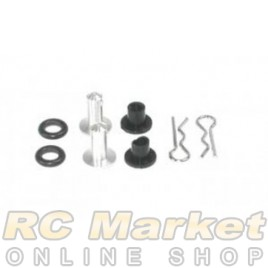SERPENT 902115 Mounting-Pin Tank + Rubber Cap (2)