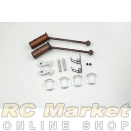 SERPENT 903302 Wheel-Axles Front CV Set OS2