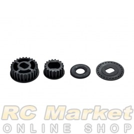 SERPENT 903721 Pulley-Set Side (2) S989