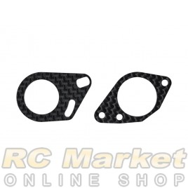 SERPENT 903754 Midshaft Mounts Carbon (2) S989