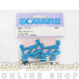SQUARE SMF-250AF Aluminum Front Wheel Axle (for TAMIYA M-06)