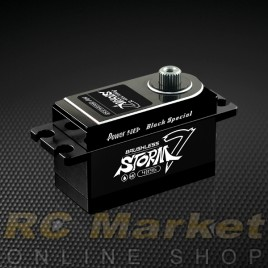 POWER HD STORM-7 Digital High Voltage RC Brushless Servo Black (Free Air Parcel)