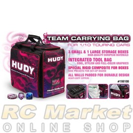 HUDY 199100 1/10 Touring Carrying Bag + Tool Bag - V2 - Exclusive Edition