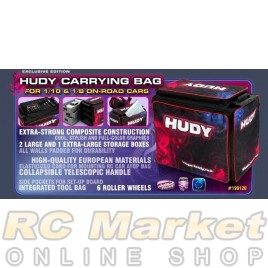 HUDY 199120 1/10 & 1/8 Carrying Bag + Tool Bag - Exclusive Edition