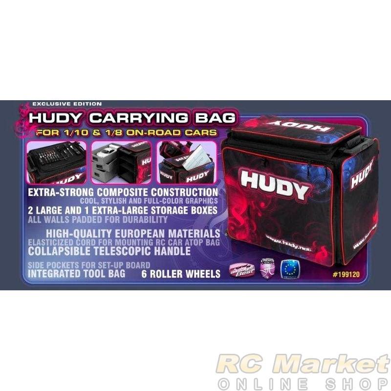 HUDY 199120 1/10 & 1/8 Carrying Bag + Tool Bag - Exclusive Edition