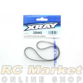 XRAY 335443 Low Friction Drive Belt Side 4.5 X 396mm
