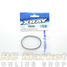 XRAY 335452 Low Friction Drive Belt Rear 5.5 X 177mm