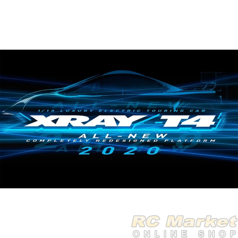 XRAY 300026 T4'20 Spec 1/10 Luxury Electric TC GRAPHITE Chassis (Pre-order)