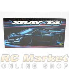 XRAY 300026 T4'20 Spec 1/10 Luxury Electric TC GRAPHITE Chassis( Free Upper Deck )