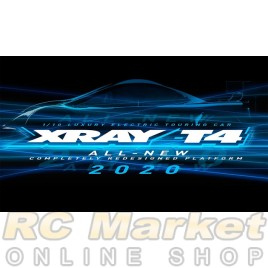 XRAY 300027 T4'20 Spec 1/10 Luxury Electric TC ALU FLEX Chassis (Pre-order)