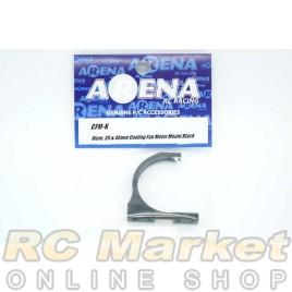ARENA CFM-K Alum. 30 & 40mm Cooling Fan Motor Mount Black