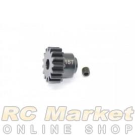 SERPENT 600455 Pinion 15T Steel