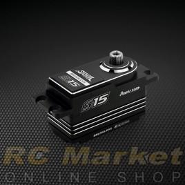 POWER HD S15 Digital High Voltage RC Digital Servo Silver