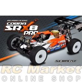 SERPENT 600020 Cobra SRX8 PRO GP 1/8 4wd  ( FREE Shipping )