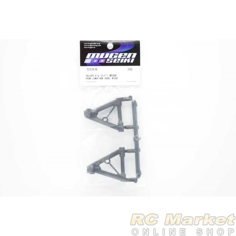 MUGEN SEIKI T2118-B Front Lower Arm (Hard) MTX6R