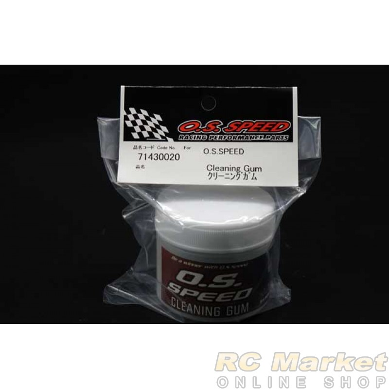 O.S. SPEED 71430020 Cleaning Gum