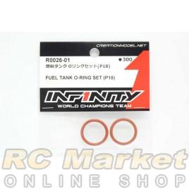 INFINITY R0026-01 IF18 Fuel Tank O-Ring Set (P18)