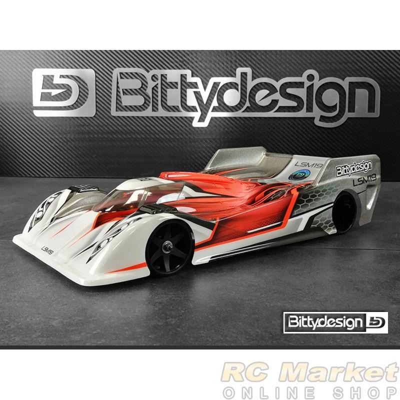 BITTYDESIGN BD12-LSM19 LSM19 Clear Body 1/12 Pan-Car Light Weight