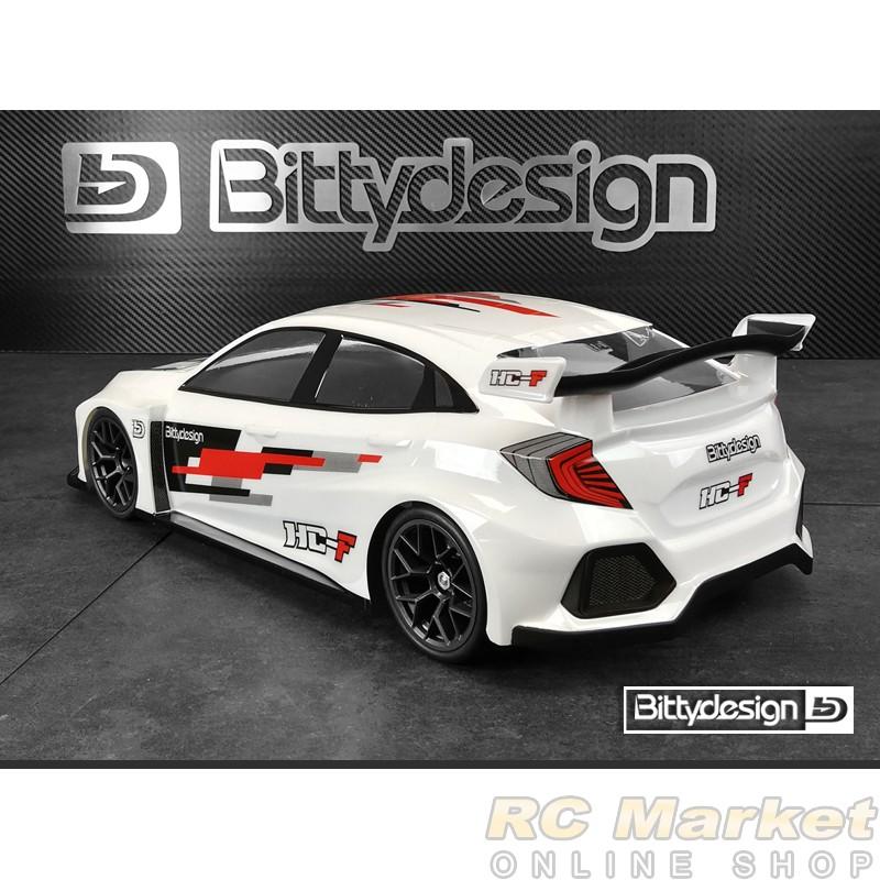 BITTYDESIGN BDFWD-190HCF HC-F 1/10 FWD 190mm Clear Body