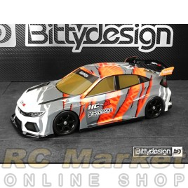 BITTYDESIGN BDFWD-HCM HC-M 1/10 M-chassis Clear Body