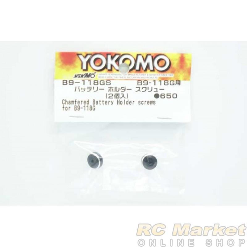YOKOMO B9-118GS Chamfered Battery Holder Screw