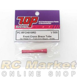 TOP PC-RFCH010RD Front Cross Brace Tube (for Rebel F1 - Front Arm Mount - Wide)