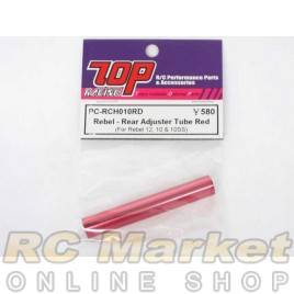 TOP PC-RCH010RD Rebel - Rear Adjuster Tube Red (for Rebel 12, 10 & 10ss)