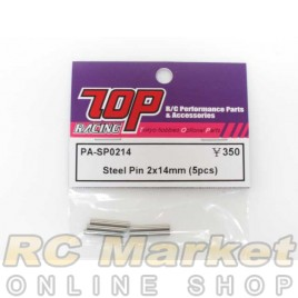 TOP PA-SP0214 Steel Pin 2 x 14mm (5 pcs)