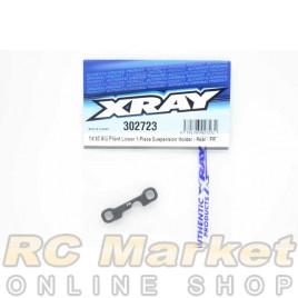 XRAY 302723 T4'20 Alu Front Lower 1-Piece Suspension Holder - Rear - FR