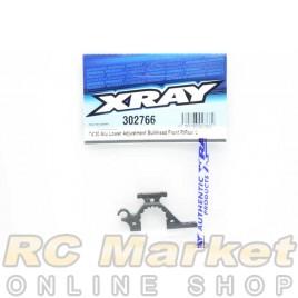 XRAY 302766 T4'20 Alu Lower Adjustment Bulkhead - Front R / Rear L