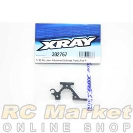 XRAY 302767 T4'20 Alu Lower Adjustment Bulkhead - Front L / Rear R