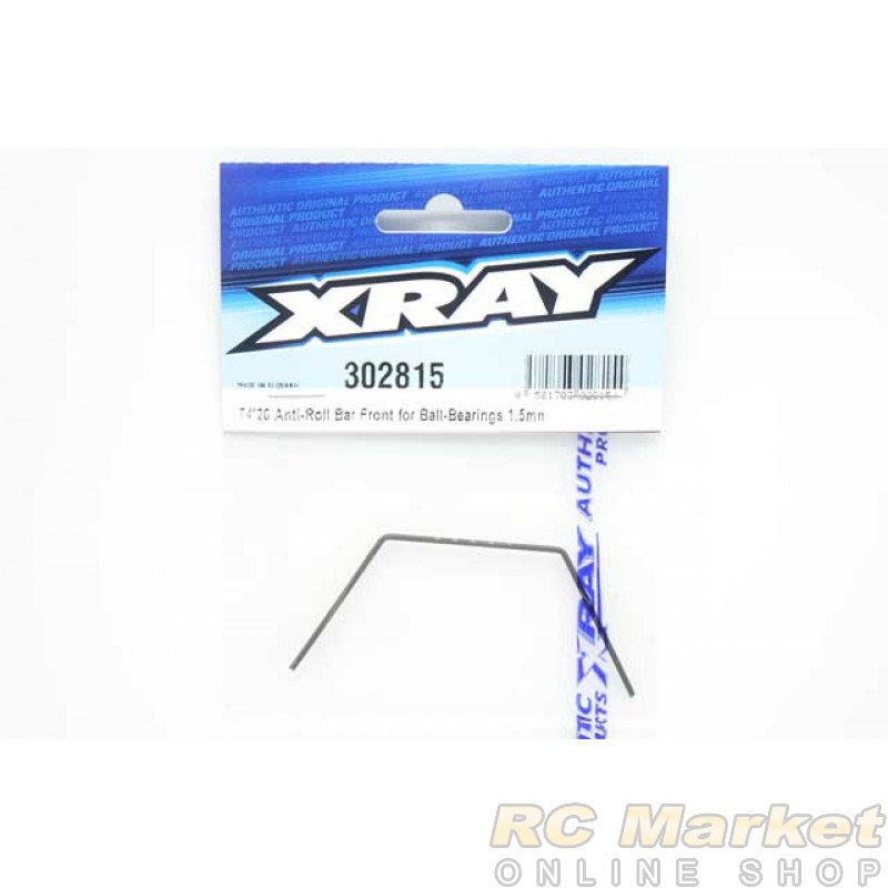 XRAY 302815 T4'20 Anti-Roll Bar For Ball-Bearings - Front 1.5mm