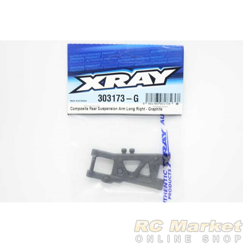 XRAY 303173-G T4'20 Rear Suspension Arm Long Right - Graphite