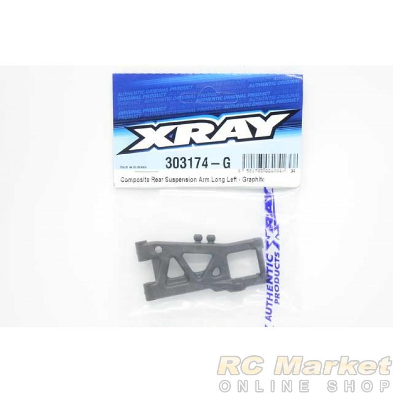 XRAY 303174-G T4'20 Rear Suspension Arm Long Left - Graphite