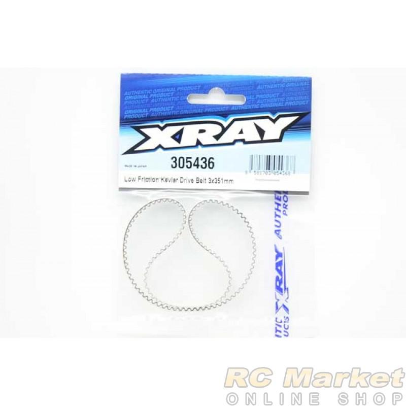 XRAY 305436 T4'20 High-Performance Low Friction Kevlar Drive Belt 3 X 351mm