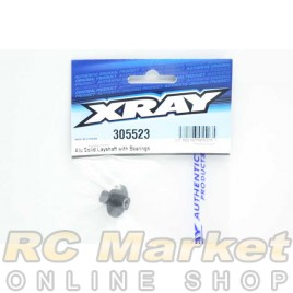 XRAY 305523 T4'20 Alu Solid Layshaft With Bearings