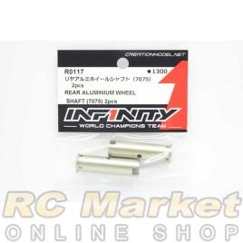 INFINITY R0117 IF18 Rear Aluminium Wheel Shaft (7075) 2pcs