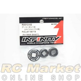 INFINITY R0012-02 IF18 Pully Set B (For Main Shaft)