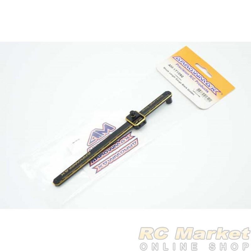 ARROWMAX 171092 Shock Length Gauge Black Golden