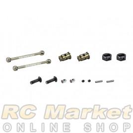 SERPENT 804446 Wheelaxle Set CVD Alu 0mm V2 (2)