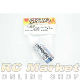 YOKOMO YS-400A Super Blend Shock Oil #400 35cc Bottle