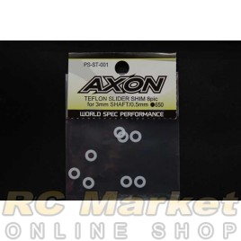 AXON PS-ST-001 Teflon Slider Shim 8Pic For 3mm Shaft/0.5mm