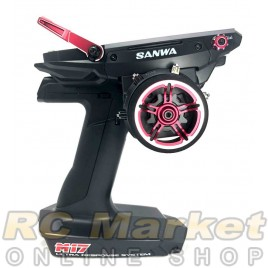 SANWA M17 Limited Edition (RED) 4CH 2.4GHz W/ RX-491x2 Radio System (FREE FedEx Shipping)