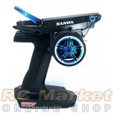 SANWA M17 Limited Edition (BLUE) 4CH 2.4GHz W/ RX-491x2 Radio System (FREE FedEx Shipping)