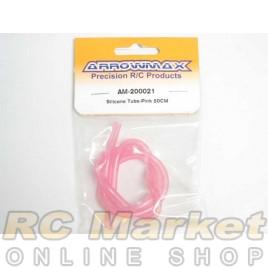 ARROWMAX 200021 Silicone Tube - Fluorescent Pink (50cm)
